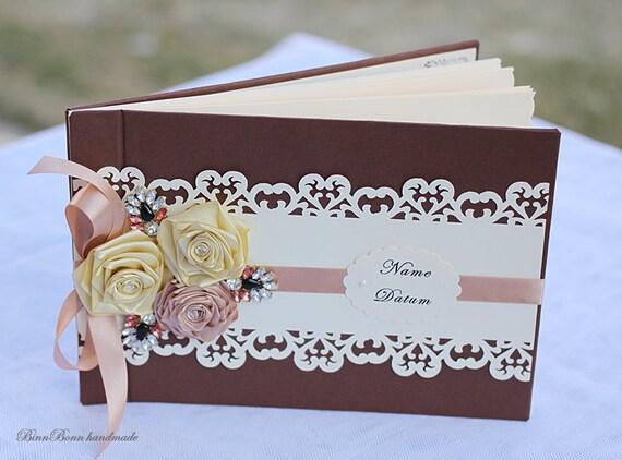 Gastebuch Album Fotobuch Hochzeit Hochzeitsbuch Vintage A4