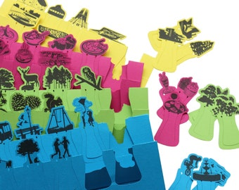 Multi pack of pageCUES book markers