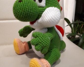 Crochet guide Yoshi
