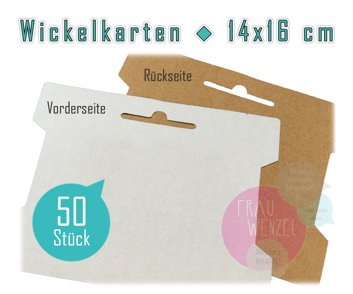 Wickelkarten 14 x 16 cm | Etsy