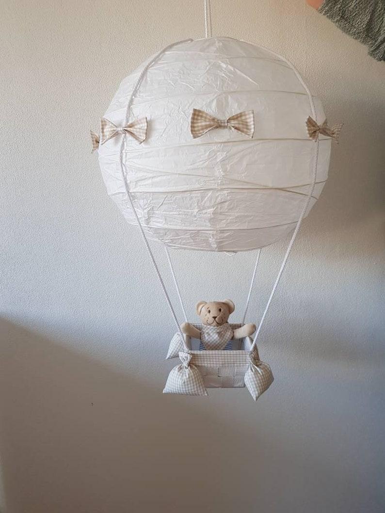 Ballon Heißluftballon Lampe Deckenlampe Kinderzimmer | Etsy