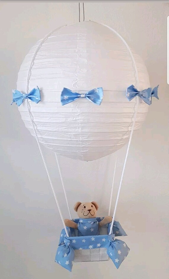 Ballon Heißluftballon Lampe Deckenlampe Kinderzimmer   Etsy