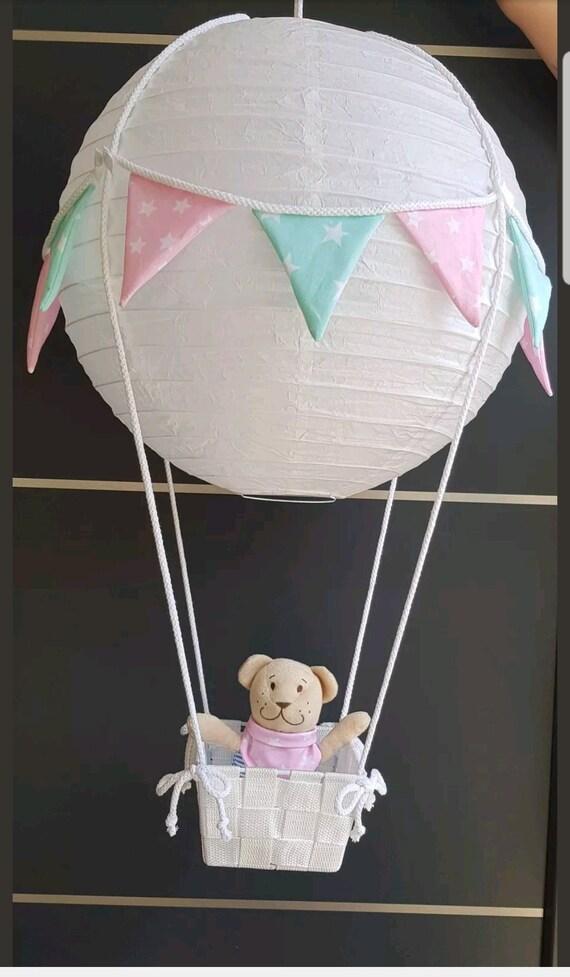 Ballon Heißluftballon Lampe Kinderzimmer Dekoration Geschenk   Etsy