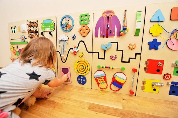 Busy Board Set Montessori Furniture For Kids Room