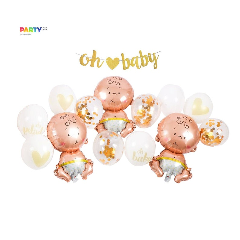 Baby Shower Party Decoration Set  Baby Shower Balloon image 0