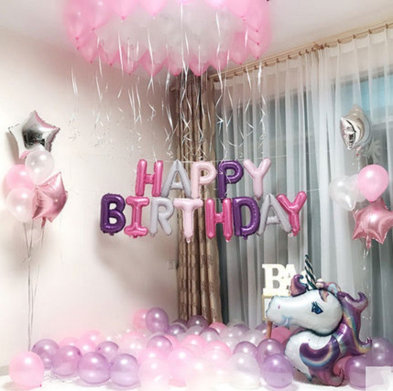 Unicorn birthday party decorations  Unicorn Birthday Themed image 0