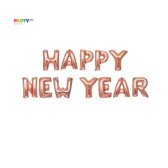 Happy New Year Balloons 52