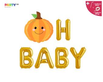 Fall Themed Baby Shower Decorations | Little Pumpkin Banner | Thanksgiving Pumpkin Themed Baby Shower