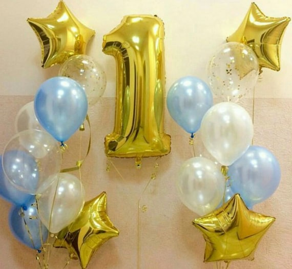 1st Birthday Balloon Kit For Baby