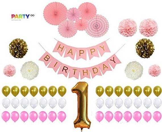 1st Birthday Party Decorations Sign