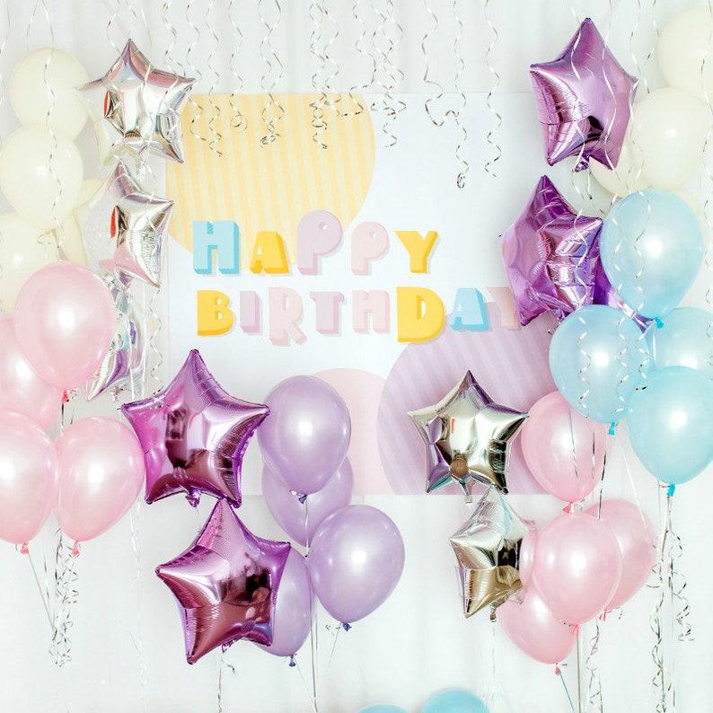 Birthday Decoration Set Party Decor