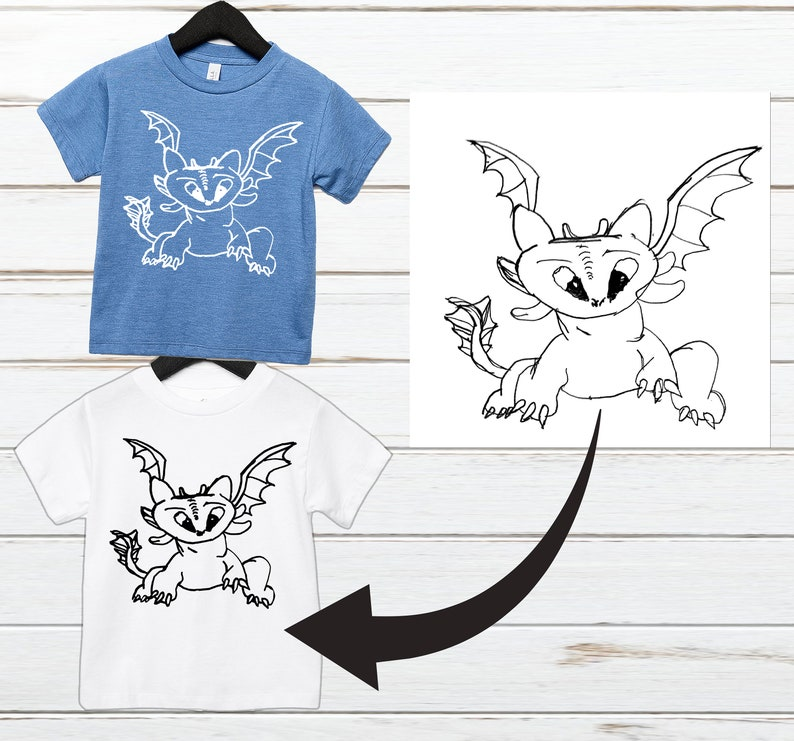 Mother/'s Day Gift Father/'s day gift Child/'s Drawing On A Shirt Unique Gift For Grandma Child/'s Keepsake Gift Kids Artwork Keepsake