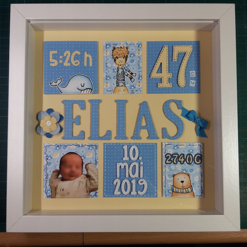 Birth picture  Customizable in color and design image 0