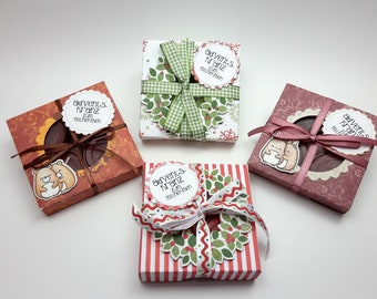 """Advent wreath """"to take away"""" - for travel or office"""