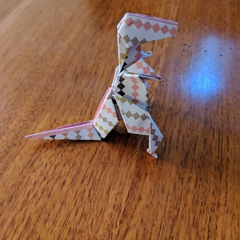 Origami Tyrannosaurus Rex photos on ig.raabidfun.com image 0