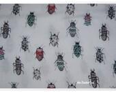 18.60 EUR meter Kate, viscose weaving with beetles, 400010, 100g square meter