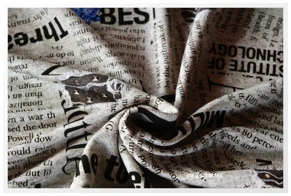 Litera Nova Viskosesweat Von Hilco Ungerauht Etsy