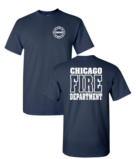Chicago Fire Department 1//4 Zip Job Sweatshirt W// Letternest Logo As Seen On TV