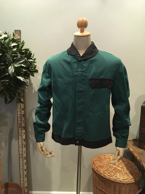 Vintage 1960s French Workwear Jacket