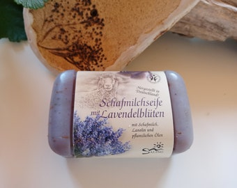 Sheep's milk soap Lavender