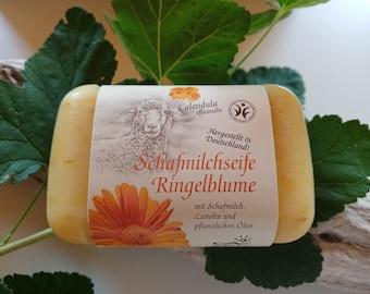 Sheep's milk soap marigold