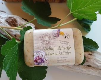 Sheep's Milk Soap Meadow Herbs