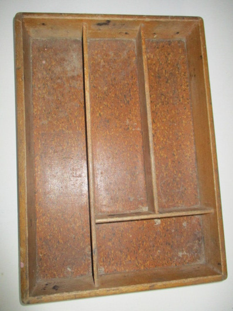 Vintage Cutlery Box Boxes/chests Reproduction Boxes/chests