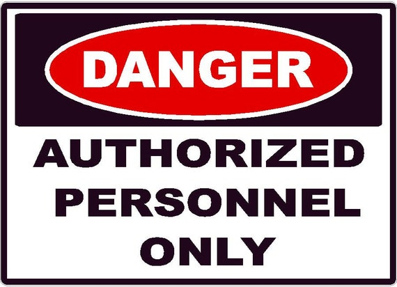 Restricted Area Keep Out Notice Warning Sticker OSHA Safe Safety Caution Decal