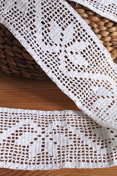 dentelle de coton 2 m m m Utilisez la main blanc 10 cm 8fb2a7