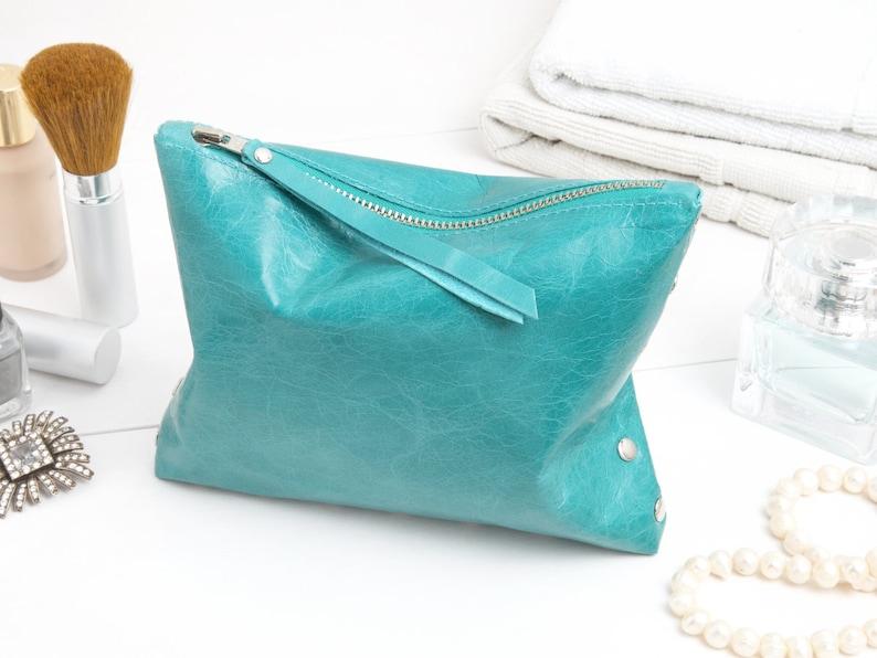 Cosmetic bag Turquoise image 0