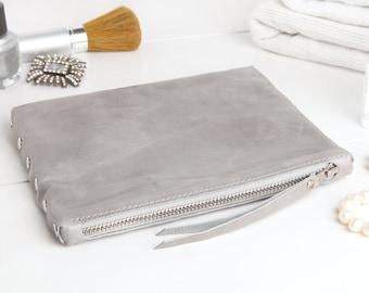 "Cosmetic bag ""light grey"""