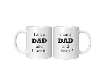 Love Being Dad White Mug