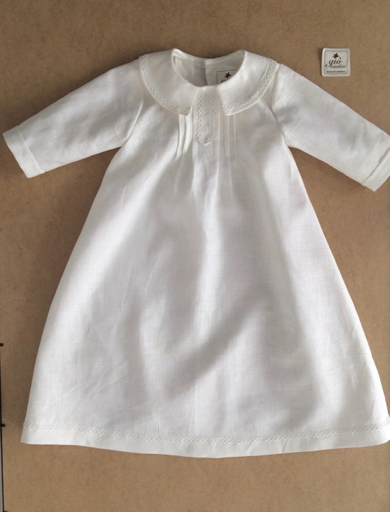 baptism christening gown boy or girl Toscana style SIMON