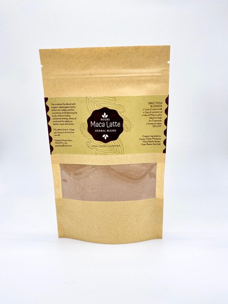 Organic Herbal Coffee Maca Latte image 0