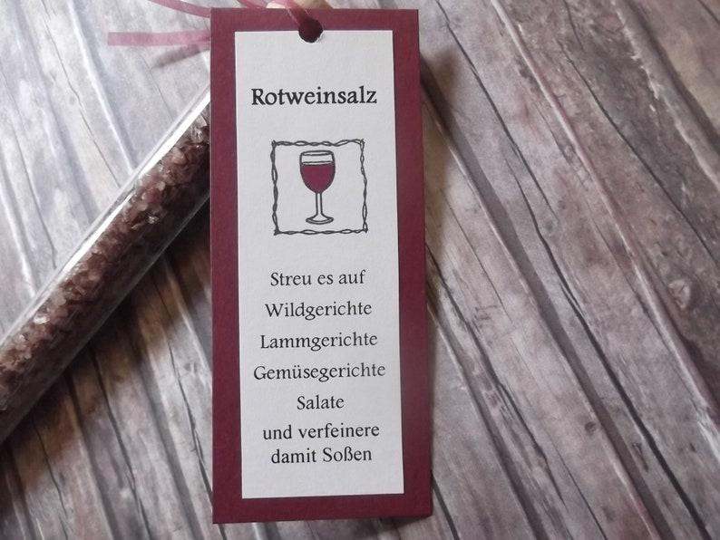 2x red wine salt-red wine sea salt in test tube