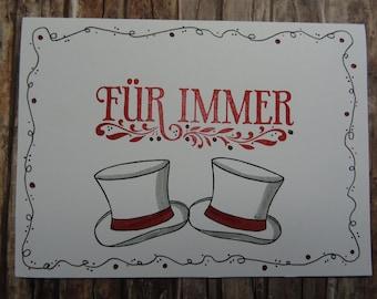 Gay Wedding Card