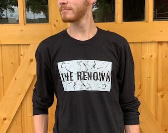 f5380b9580b THE RENOWN // (Unisex) Long-Sleeve Christian T-Shirt, Men's Women's Youth  Revival Shirt, Black and White Trendy Jesus Tee, Holy Spirit Roar,
