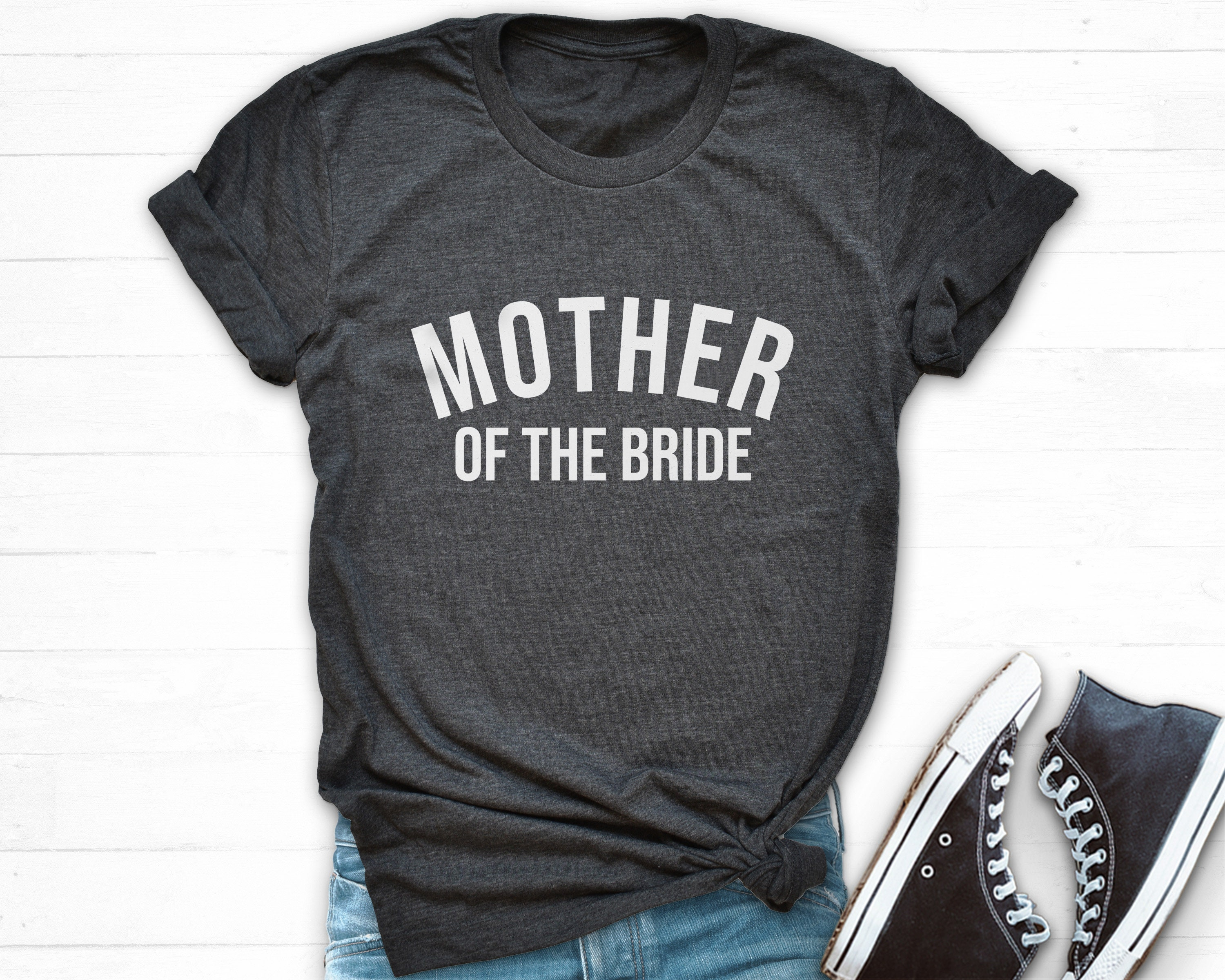 d3d1ab95f Mother of The Bride T Shirt Brides Mom Shirt Mother Bride | Etsy