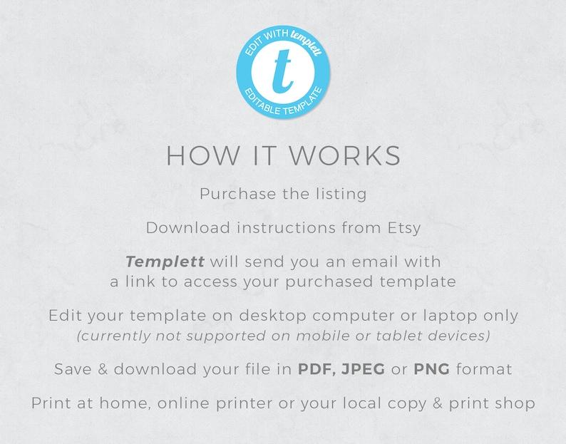 INSTANT DOWNLOAD Bundle Wedding Photo Card Greenery Printable DIY Rustic Wedding Invitation Template Suite Boho Editable
