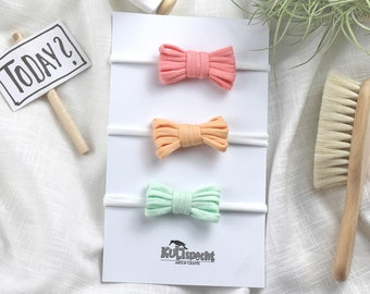 Baby bows headband, large color selection