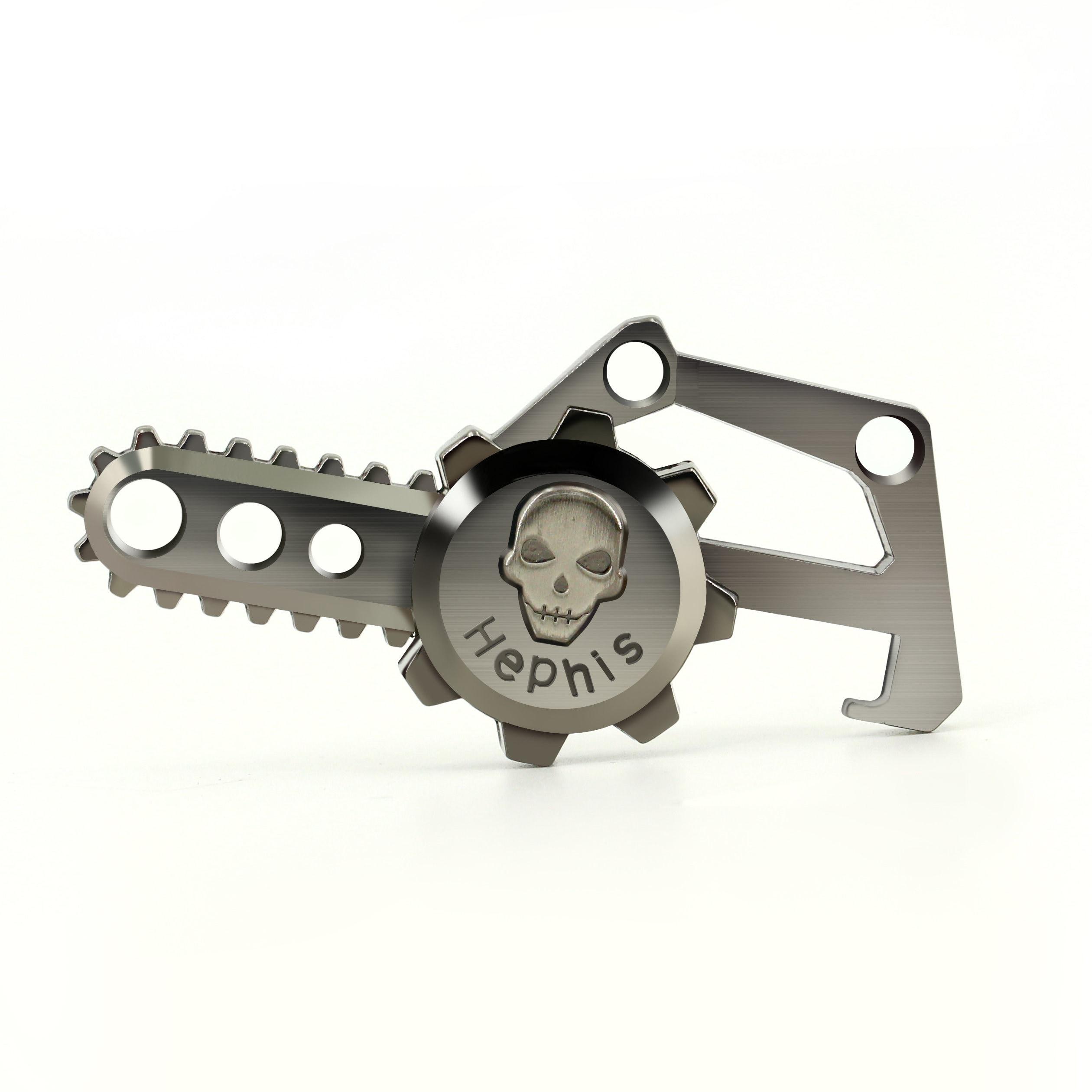 Key Chain Unique Angel Devil Skull Key Holder Ring Multi Function Bottle Opener