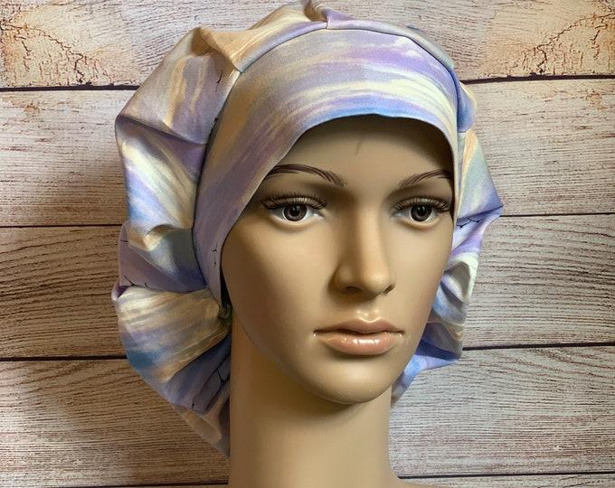 Clear Horizons Bouffant Cap~Scrub Caps for Women ~Scrub Hats