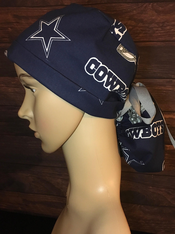Dallas Cowboys~ Scrub Hats~Scrub Caps for Women~ Scrub Caps ... 82ac126b0aa