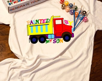 Birthday Gift Handmade Kit T-shirt Next Level Acrylic Paint Brushes Happypenguin Painting Supplies Art Supplies
