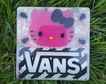 989d7ea23 Vans Hello Kitty Pink Decorative Tile One of A Kind Kawaii Skater