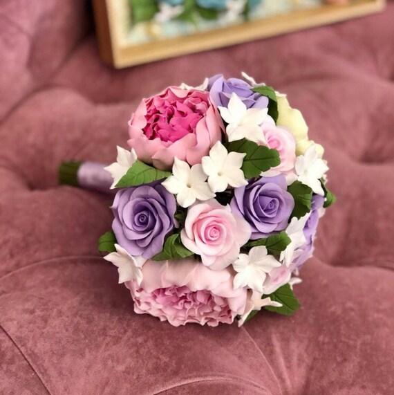 Rose Blütenkopf Blumen Dekor Handgefertigt Konservierte Getrocknet
