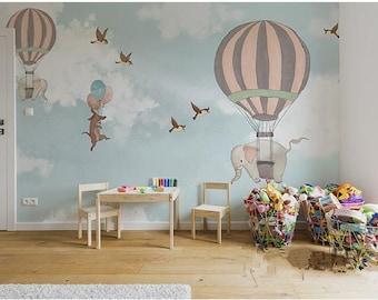 Wallpaper Baby Room Etsy