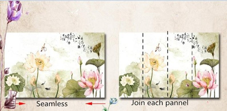 White Plum Blossom Flowers Wall Murals Wall Decor Oil Painting Blue Hanging Plum Blossom Wallpaper