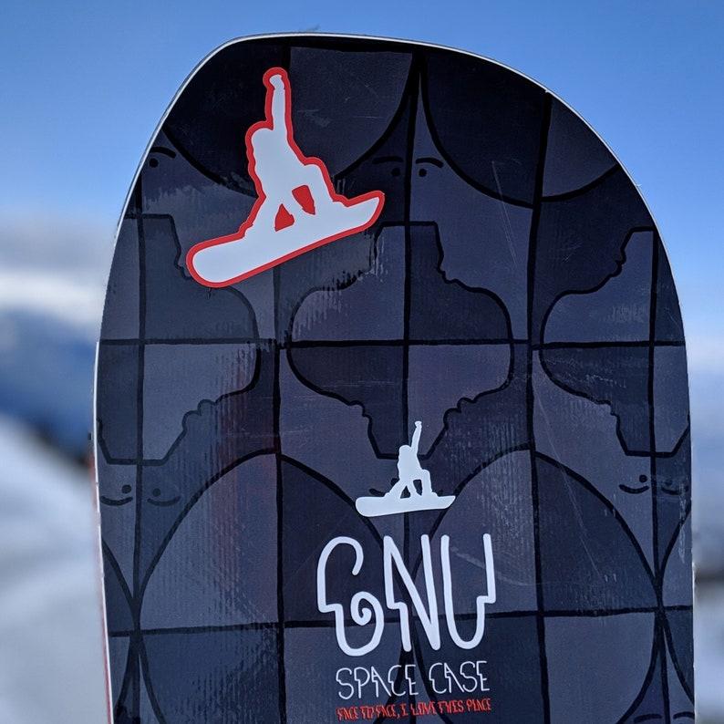 6 Sticker Pack  SnowboardProCamp image 0