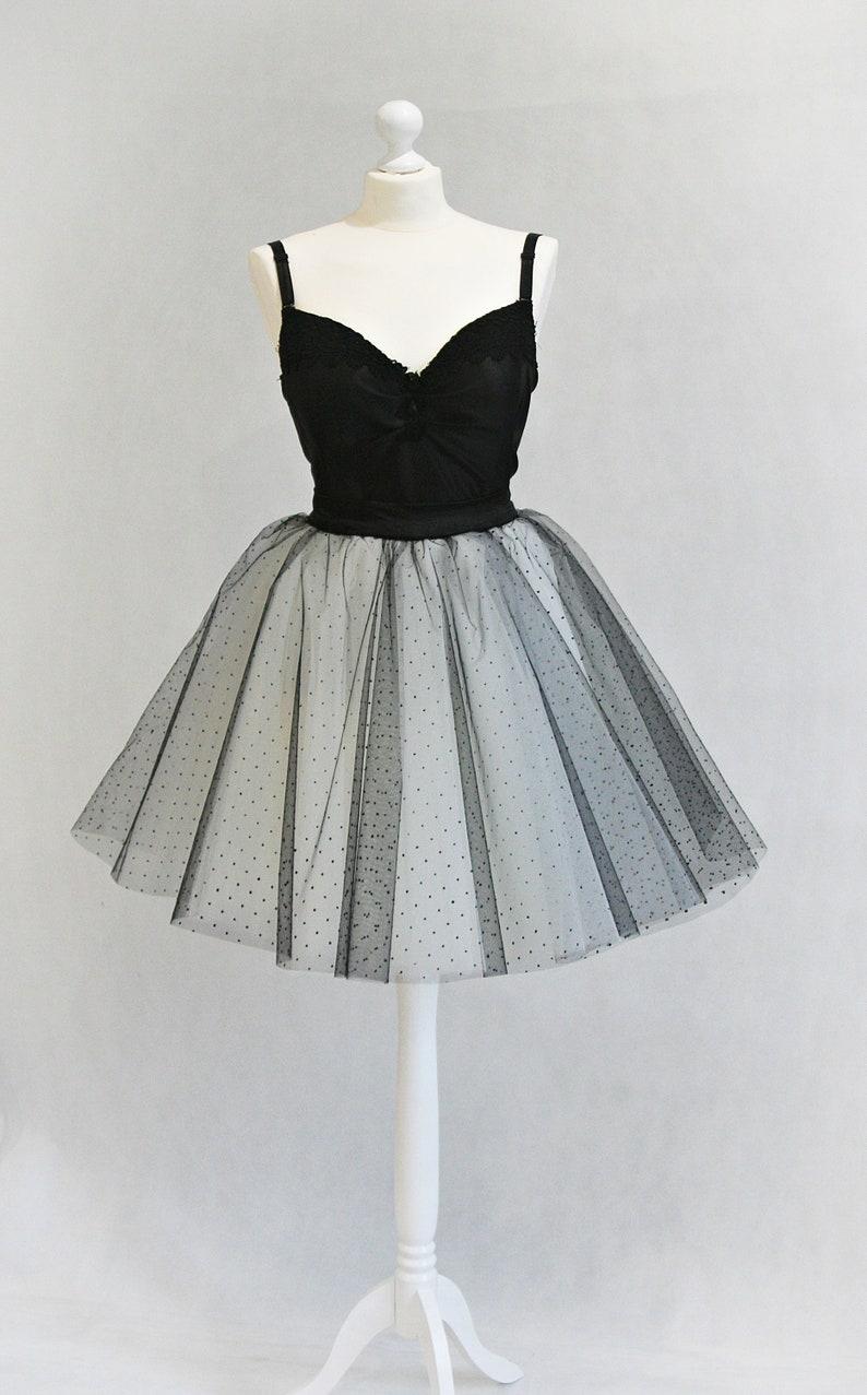 Dots Tulle Skirt